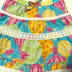 Lilly Pulitzer Girl's Colorful  Skirt